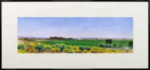 Green Valley in August Cathy Jennings  Transparent watercolor , 17