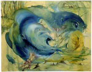 Young Fish Jonie Bassett Acrylic on canvas, 34