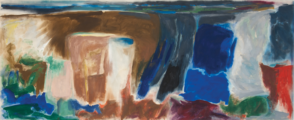 Friedel Dzubas Ikarus 1973 Acrylic on canvas (Magna) 116