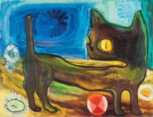 Judith Linhears Big Cat 1991 60
