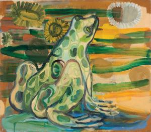 Judith Linhears Frog 1990 42