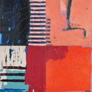 Lori Swartz Red, Pink and Orange Contemplation 2014 44