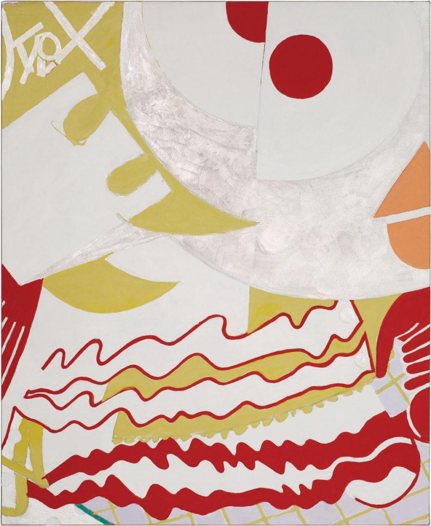 Knox Martin Eesha 2012 Acrylic on linen 80