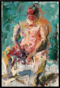 Carl Plansky Figure II (Seated Figure) 2000 74