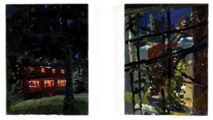 Susanna Coffey Night Painting, 'My Father's House' 1995 8