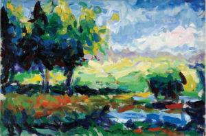 Carl Plansky Beverly's Landscape 1985 24
