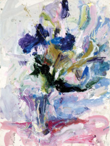 Carl Plansky Purple Flowers 2006 37