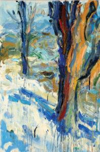 Carl Plansky Two Trees 1998 48