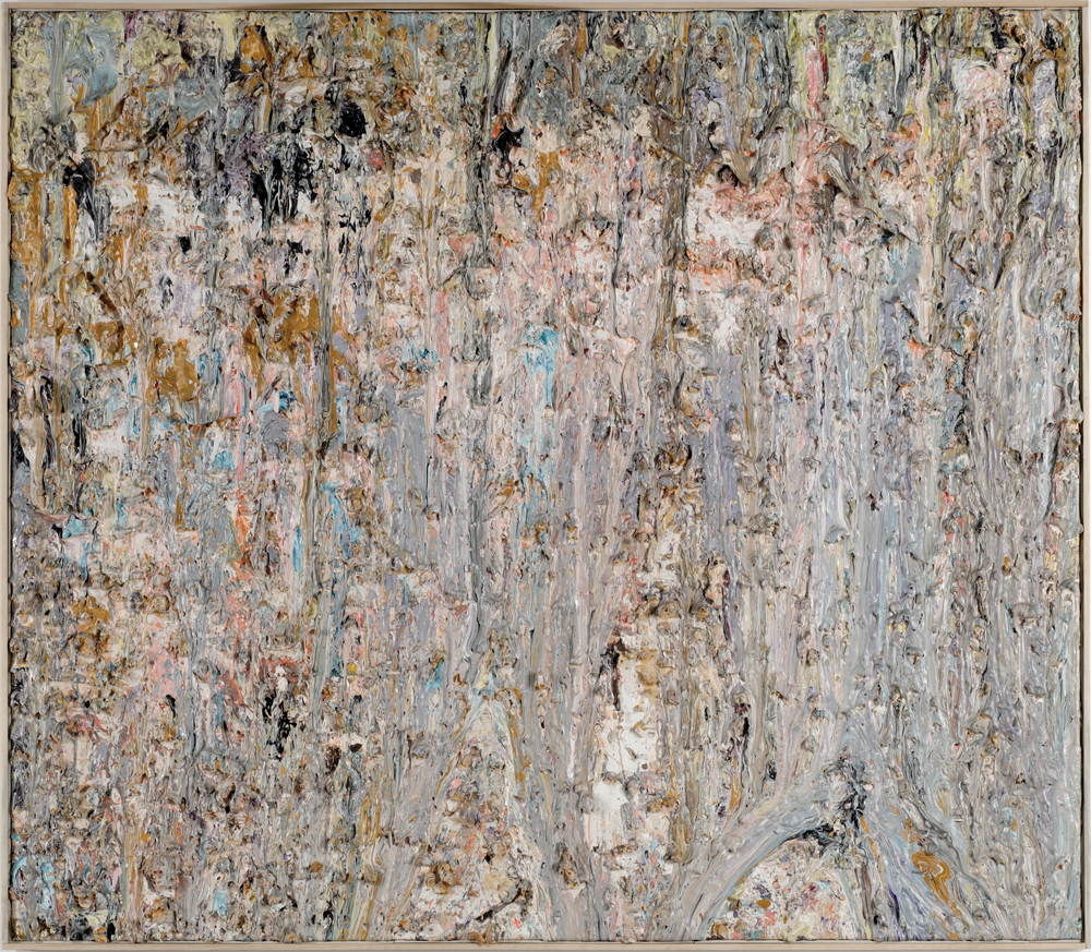 Larry Poons Log Train 1985 Acrylic on canvas 78.25