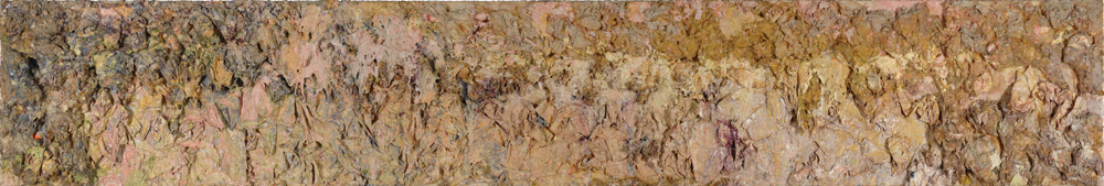 Larry Poons Plains Rush 1986 Acrylic on canvas 30.5