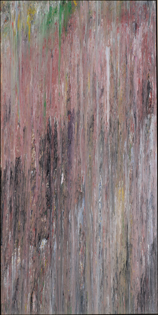 Larry Poons Untitled 1975 Acrylic on canvas 89.5