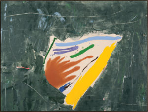 Etna Furnace, 1979, Acrylic on Canvas, 65 1/4