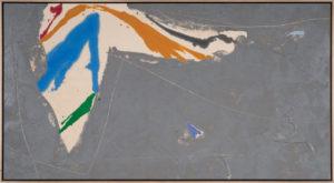 Ginger Night, 1980, Acrylic on Canvas, 42