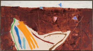 Lo Lo Pass, 1979, Acrylic on Canvas,  49.5