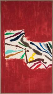 Sea Horse, 2012, Acrylic on Canvas, 77 1/4