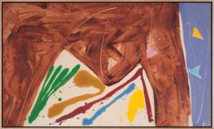 Sorry Hill, 1979, Acrylic on Canvas, 34
