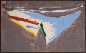 Tobari, 1980, Acrylic on Canvas, 43 1/8