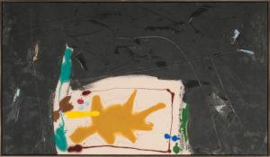 Two Moon, 1980, Acrylic on Canvas, 44 1/4