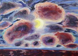 "Scott Bennett Pansdance 2013 57"" x 46"" x 2"" Acrylic on canvas"