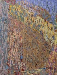 """Ulysses Jackson Secret River 2008 40"""" x 30 """" Acrylic on canvas"""