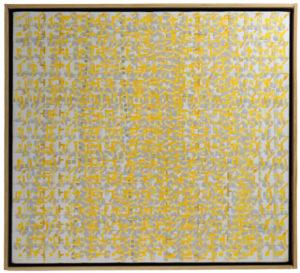 """Sarah Sands  Dawn 2003 16"""" x 18"""" Acrylic on canvas"""
