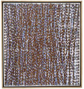 """Sarah Sands Forest at Dusk 2007 24"""" x 22"""" Acrylic on canvas"""