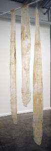 """Lori Wilson Three  2012 84"""" x 60"""" x 2"""" Acrylic"""